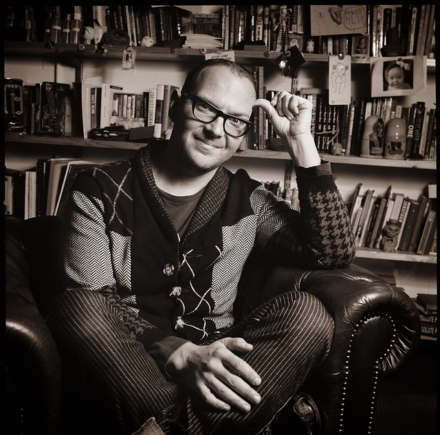 Cory Doctorow Portrait